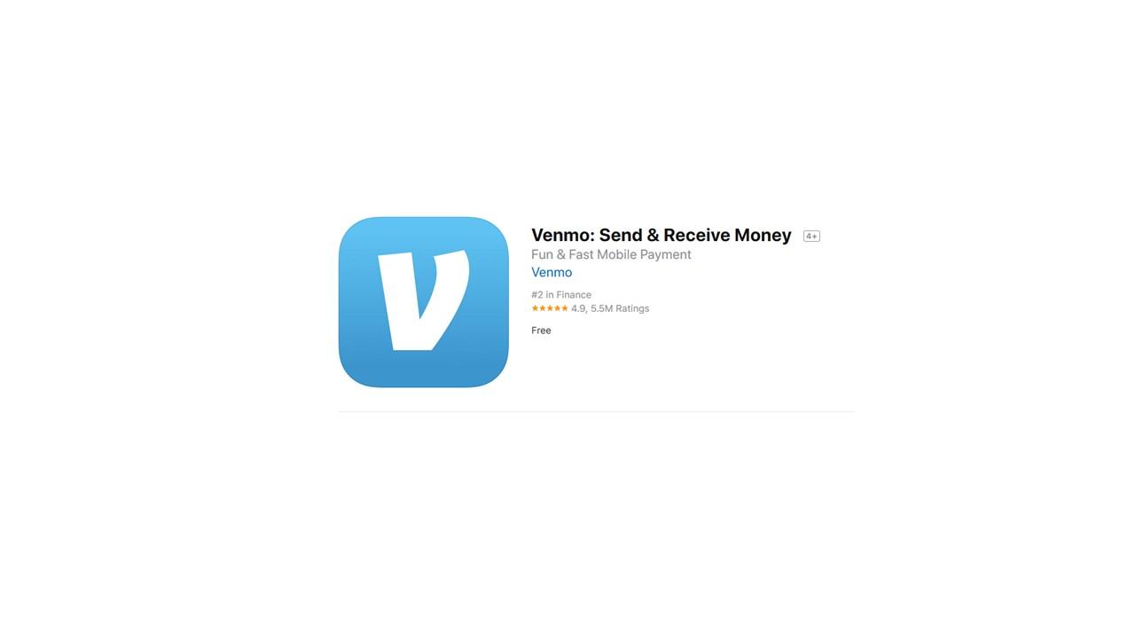 Download phone app from Venmo.com